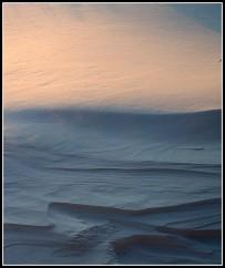Dusk Snow Moonscape