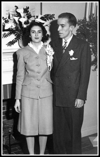 Wedding Day - 2/26/44